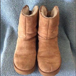 Tan UGG Buckle Boots